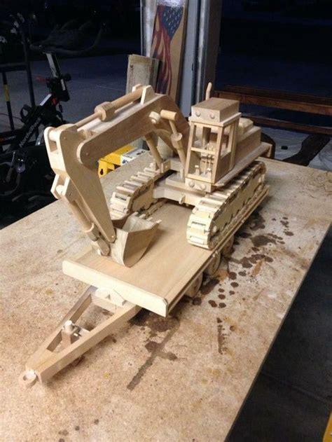 reddit woodworking working scale excavator   wood