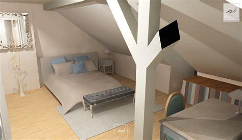 chambre sous comble décoration chambre comble