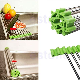 Kitchen Holder Stainless Steel Sink Folding Fruit