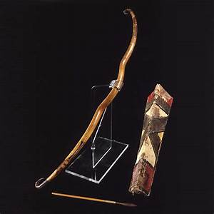 Scythian Wood Bow with Quiver and Arrows | Колчан ...