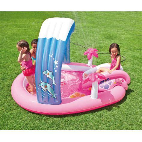 piscine piscine enfant avec aire de jeux gonflable hello ebay