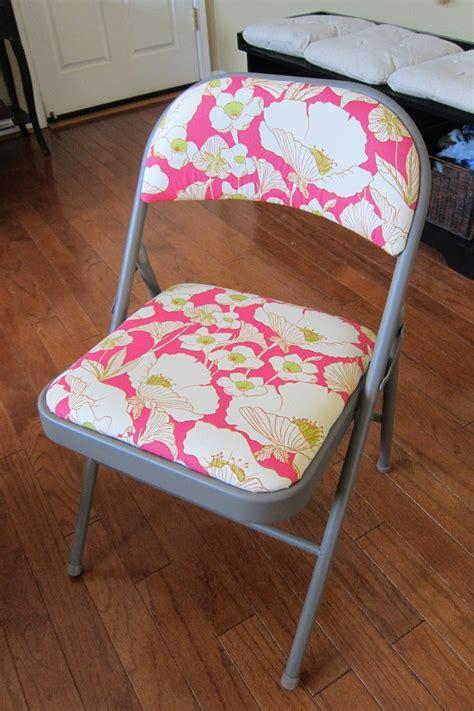 kovi fabrics news how to reupholster your folding chair