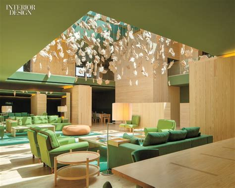 Lobby Seating Benches by 7 Green Interiors