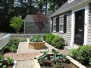 Front Yard Vegetable Garden In Wellesley  Ma
