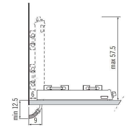 piani cottura alpes inox alpes inox piano cottura ribaltabile r605g alpes inox
