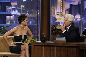 Halle Berry chatted with Jay Leno. | Halle Berry Confirms ...