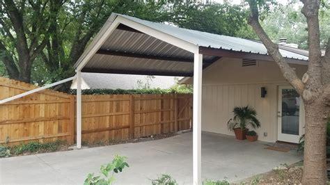 Carport Covers by San Antonio 18 X18 Custom Gabled Carport Carport