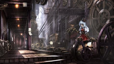Steam Anime Wallpapers - steunk anime wallpaper www imgkid the