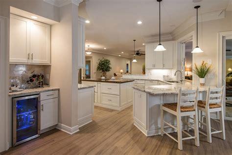 wide open kitchen design  entertaining