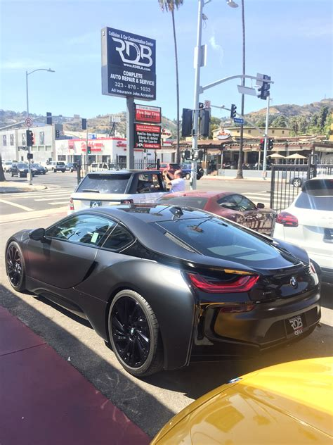 check  nba player julius randles  matte black bmw