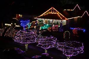 West Seattle Blog… | West Seattle Christmas lights: Aerial ...