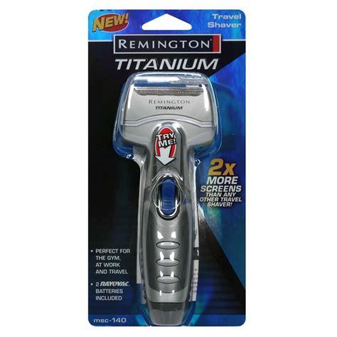 remington titanium travel shaver shaver beauty shaving hair
