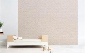 Papier Peint Rose Et Gris : papier peint graphique rose d co chambre enfant fille ~ Dailycaller-alerts.com Idées de Décoration