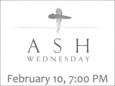 Ash Wednesday Calvary Lutheran Church in Stayton Oregon