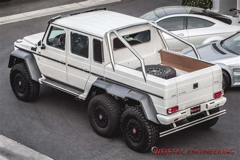 Mercedes G63 Amg 6x6 by Official Mercedes G63 Amg 6x6 By Weistec Engineering