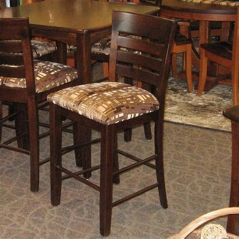 Kitchen Chairs Belfast by Belfast Pub Chair Shown In Brown Maple With A Rich