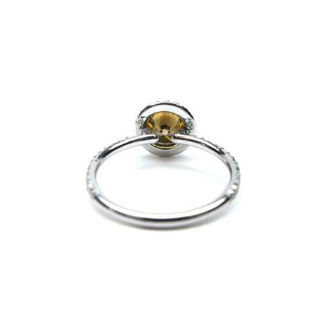 Brilliant Brown by Fancy Brilliant Brown Frame Platinum Ring