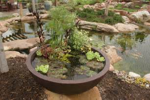 aquascape your landscape create a container water garden