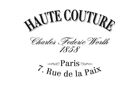 printable image haute couture vintage french