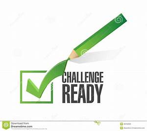 Challenge Ready Check Mark Illustration Stock Illustration ...