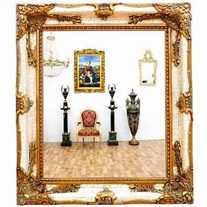 Vintage Spiegel Weiß : vintage wandspiegel gold spiegel antik wei luxus frisierspiegel edel ebay ~ Indierocktalk.com Haus und Dekorationen