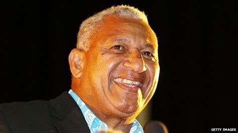fiji bainimarama leaders nailatikau frank prime minister bbc president epeli australia profile leader vs coup