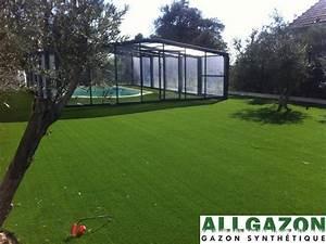 Gazon Synthétique Prix : gazon synth tique green perfect 42mm fibre c shape larg 2 ou 4 m tres gazon synth tique ~ Farleysfitness.com Idées de Décoration