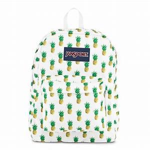 JanSport SuperBreak School Backpack -PINEAPPLE MULTI