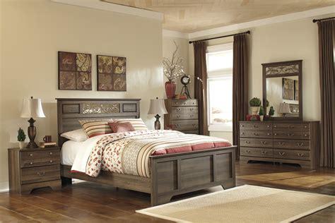 allymore panel bedroom set  ashley