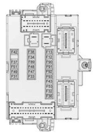 alfa romeo giulietta 2010 2013 fuse box diagram