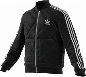 Adidas Originals Mens Superstar Quilted Jacket Black I Landau