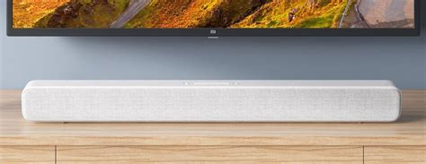 xiaomi mi soundbar review a stylish affordable soundbar that could been better tech