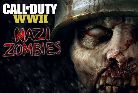 call of duty ww2 zombies confirmed for new co op mode