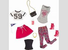 Barbie Doll Clothes 2 Pack Complete Look Fashions Sports Set