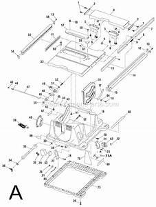 Ridgid Ts2400ls Parts List And Diagram   Ereplacementparts Com