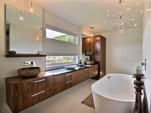 Salle De Bain Contemporaine : stunning photo salle de bain contemporaine contemporary ~ Dailycaller-alerts.com Idées de Décoration