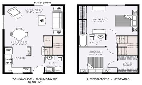 small townhouse floor plans townhouse floor plans  designs townhouse house plans