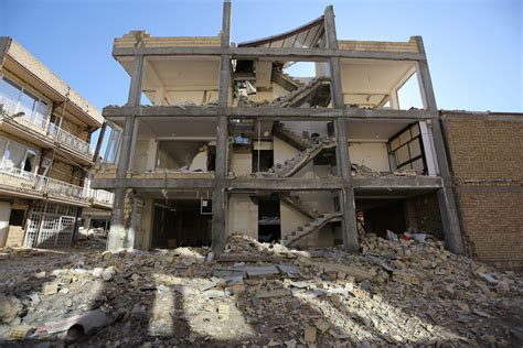 Photos Show Earthquake Damage In Iraq And Iran