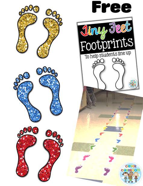ideas to help littlies line up clever classroom 776   Footprints 2BOverview 2Bof 2BFREEBIE 2BClever 2BClassroom4