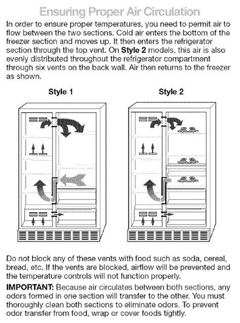 fix warm side  side kenmore elite refrigerator
