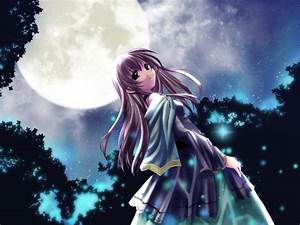 Anime Moon Princess Wallpapers - WallpaperSafari