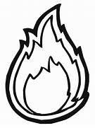 Flame Outline - ClipAr...