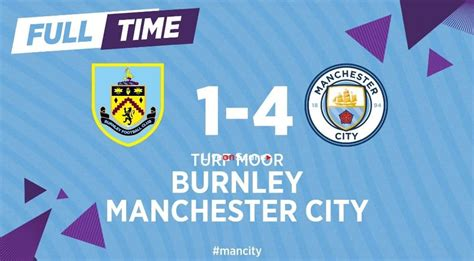 Manchester City–Burnley - Burnley 0-1 Man City: Sergio ...
