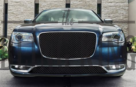Bentley Grill Chrysler 300 by 2015 2018 Chrysler 300 Black Bentley Mesh Grille With