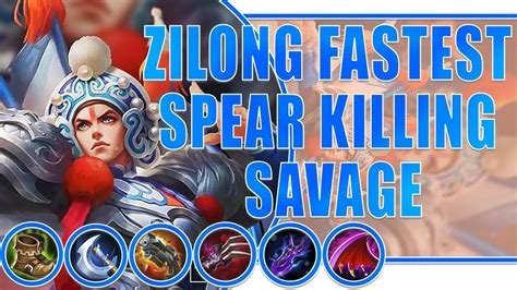 Zilong Top Global 100% Savage Build By Selectra Mobile