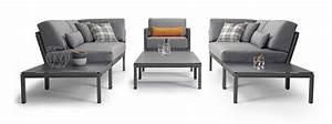 gartentisch solpuri club couchtisch 80x80x30cm anthrazit With französischer balkon mit aluminium garten lounge