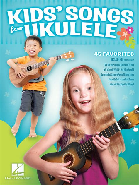 The following easy ukulele songs for beginners will fulfill your demand. Kids' Songs for Ukulele - Sheet Music - Read Online