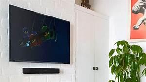 Fernseher Wandmontage Höhe : g nstige soundbar sonos beam im test audio video foto bild ~ Frokenaadalensverden.com Haus und Dekorationen