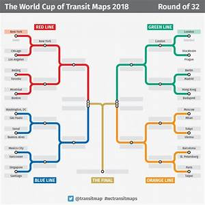 The World Cup Of Transit Maps Is Going On Now  Who Do You