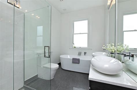 White Tile Bathroom Designs by Grey Marble Floor Tiles For Bathroom Stribal